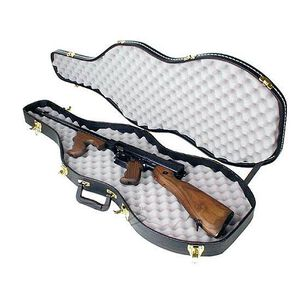 "Auto Ordnance Tommy Gun Violin Case Black Hard 43""x15.5""x4"""