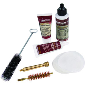 Traditions EZ Clean 2 Muzzleloader Cleaning Kit Cleaning Solutions and Tools .50 Caliber A3960