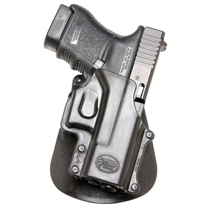 Fobus Roto-Belt Holster S&W/Rossi/Charter Arms Small Frame Revolvers Right  Hand Polymer Black J357RB
