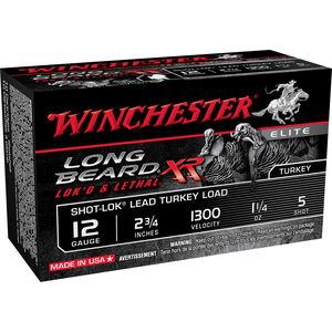 """Winchester Long Beard 12 Gauge Ammunition 10 Rounds, 2 3/4"""", 1 1/4 oz."""
