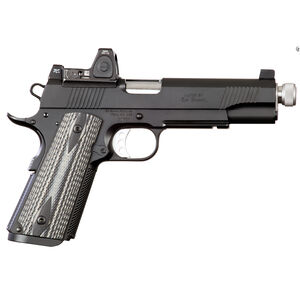 "Ed Brown Special Forces SR 1911 Semi Auto Pistol 45 ACP 5"" Threaded Barrel 7 Rounds Trijicon RMR Black"