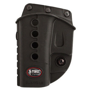Fobus Evolution Holster for GLOCK 17, 19 and 34 Left Hand Polymer Black