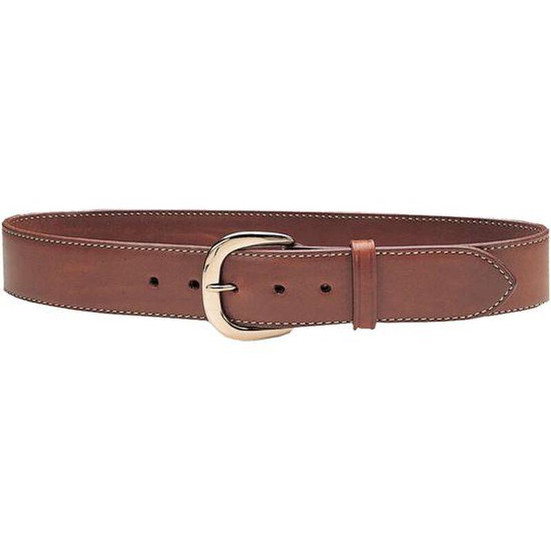 "Galco Gunleather SB2 Sport Belt 1.5"" Wide Brass Buckle Leather Size 46 Tan SB2-46"