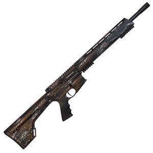 "Brenton USA Stalker Carbon Hunter .350 Legend AR-15 Semi Auto Rifle 18"" Barrel 5 Rounds Free Float Hand Guard Fixed Stock Harvest Camo Finish"