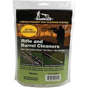 RamRodz .22/.223/5.56mm Breech Cleaner 600 Count Cotton