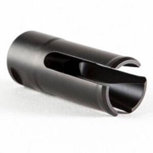Patriot Ordnance Factory USA Flash Hider 7.62/.308 Caliber Diameter 5/8x24 Threads Locknut Kit Matte Black Finish 00871