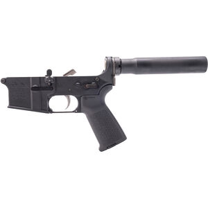 Anderson Manufacturing AR-15 Pistol Complete Lower Receiver Assembly .223 Rem/5.56 NATO Multi Caliber Marked with Lower Parts Kit 7075-T6 Aluminum Black