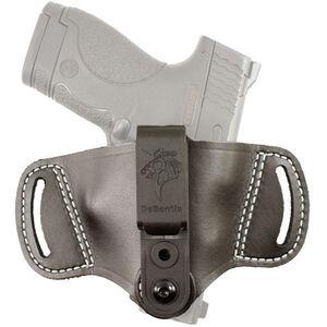 Desantis The Outback OWB/IWB Belt Holster Multi Fit Ambidextrous Leather Black 145BJG2Z0