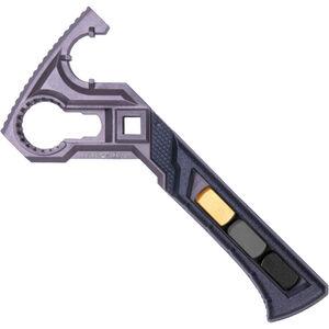 Real Avid AR-15/AR-10 Armorer's Master Wrench Interchangeable Hammer Heads  Ergonomic Stainless Steel Black