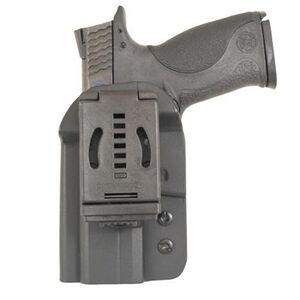 Comp-Tac QB Belt Holster Ambidextrous Fits GLOCK 9mm and .40 Kydex Black