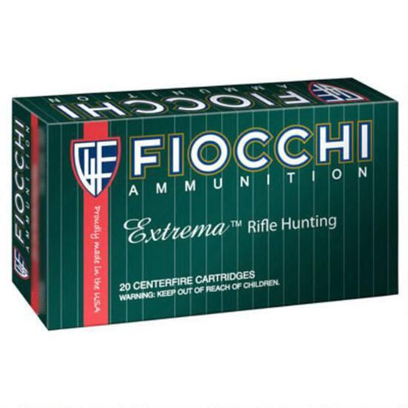 FIOCCHI .300 Blackout Ammunition 25 Rounds Hornady SST 125 Grains 300BLKHA