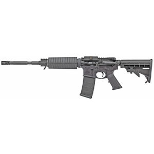 "Stag Arms STAG-15 Optics Ready Carbine 5.56 NATO Semi Auto Rifle 16"" Barrel 30 Rounds Mil-Spec 6 Position Buttstock Left Hand Action Matte Black Finish"