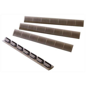 ERGO Grip 7-Slot KeyMod Slot Cover WedgeLok Polymer Flat Dark Earth 4 Pack