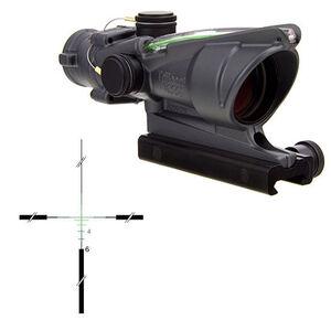 Trijicon ACOG TA31-C-100199 4x32 Rifle Scope Illuminated Green .223 Ballistic Crosshair Reticle 1/2 MOA TA51 Flattop Mount Sniper Gray TA31-C-100378