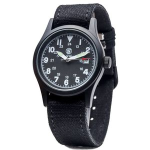 Military Watch 3 Straps Date Second Hand