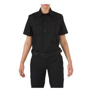 5.11 Tactical Women's Stryke Class-B PDU Short Sleeve Shirt Size Large Regular Midnight Navy