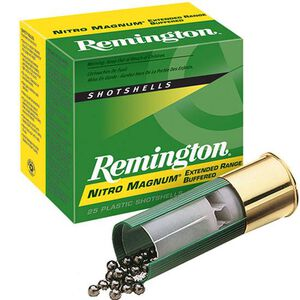 "Remington Nitro Mag 20 Ga 3"" #4 Lead 1.25oz 25 Rounds"