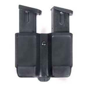 BLACKHAWK! CQC Double Stack 9/40 Double Mag Case Black Matte Finish 410610PBK