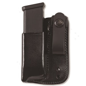 Galco GLOCK 9mm/.40 S&W/.357 SIG Inside Waistband Magazine Carrier Ambidextrous Leather Black IWBMC24B