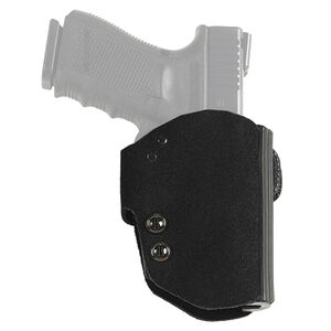 Galco Blakguard FN FNS 9/40 and Compact 9/40 Belt Holster Premium Steerhide/Polymer Right Hand Black