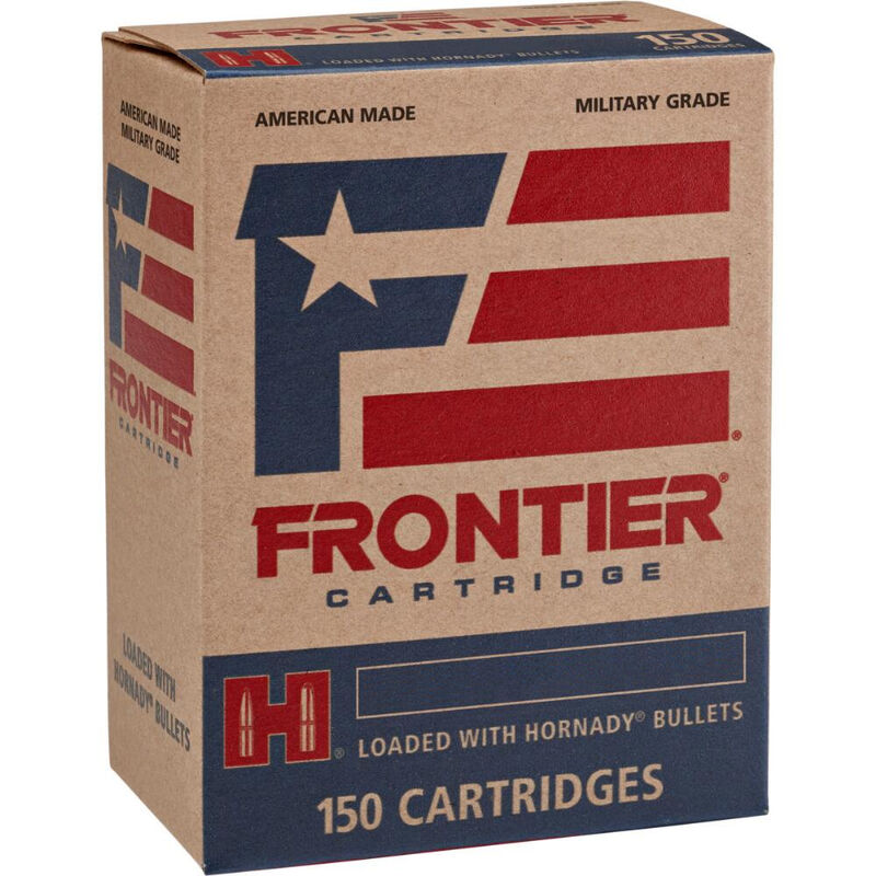 Hornady Frontier 5.56 NATO Ammunition 150 Rounds FMJ 62 Grains