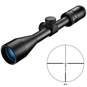 "Nikon Prostaff P5 2.5-10x42 Riflescope Non-Illuminated BDC Reticle 1"" Tube .25 MOA Fixed Parallax Matte Black"