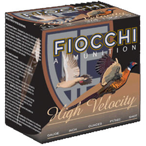 "Fiocchi High Velocity 28 Gauge Ammunition 25 Rounds 3"" #5 Shot 1oz Lead 1300fps"