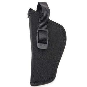 "GrovTec Hip Holster 4.5""-5"" Large Automatics Size 5 Nylon Left Hand Black"