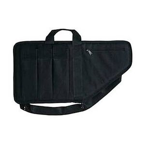 "Bulldog Extreme Tactical Rifle Soft Case 25"" with Pockets Nylon Black BD423"