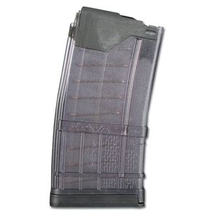 Lancer AR-15 L5 Advanced Warfighter Magazine .223 Rem/5.56 NATO 20 Rounds Polymer Translucent Smoke