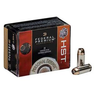 Federal Premium Personal Defense .380 ACP Ammunition 20 Rounds HST JHP 99 Grains P380HST1S
