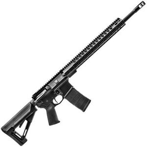 "FNH FN15 DMR II AR-15 Semi Auto Rifle 5.56 NATO 18"" Barrel 30 Rounds M-LOK Handguard Collapsible Stock Black"