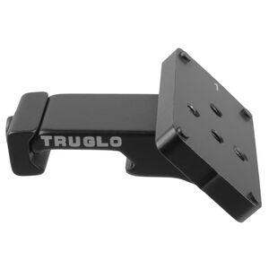 Truglo Offset Universal Micro Red Dot Sight Riser Matte Black