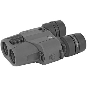 SIG Sauer Optics ZULU6 Image-Stabilized 10x30mm Binoculars Graphite Finish