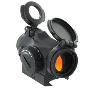Aimpoint Micro T-2 Red Dot Sight 2 MOA Dot with Picatinny Style Mount CR2032 Battery Aluminum Housing Matte Black Finish