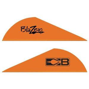 "Bohning Blazer Vanes 2"" Solid Neon Orange 36 Pack 10831NO2"