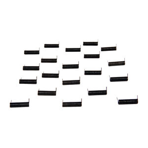 LBE Unlimited AR-15 Ejection Port Door Cover Spring Made From 302 Stainless Steel Matte Black 20 Count