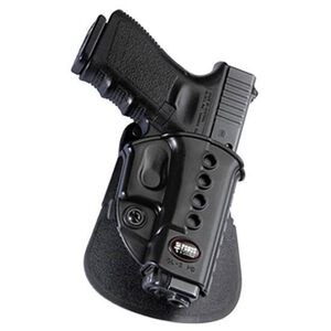 Fobus Evolution Paddle Holster for GLOCK 17, 19 and 34 Polymer Black