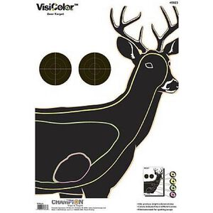 "Champion VisiColor Critter Series Deer Target 13""x18"" Paper 10 Pack 45823"