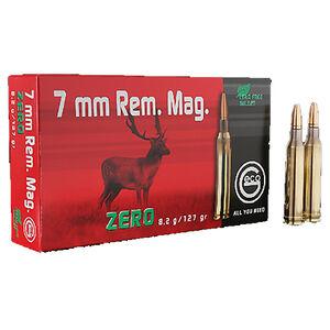 GECO 7mm Remington Magnum Ammunition 20 Rounds 127 Grain GECO Zero Lead Free Projectile