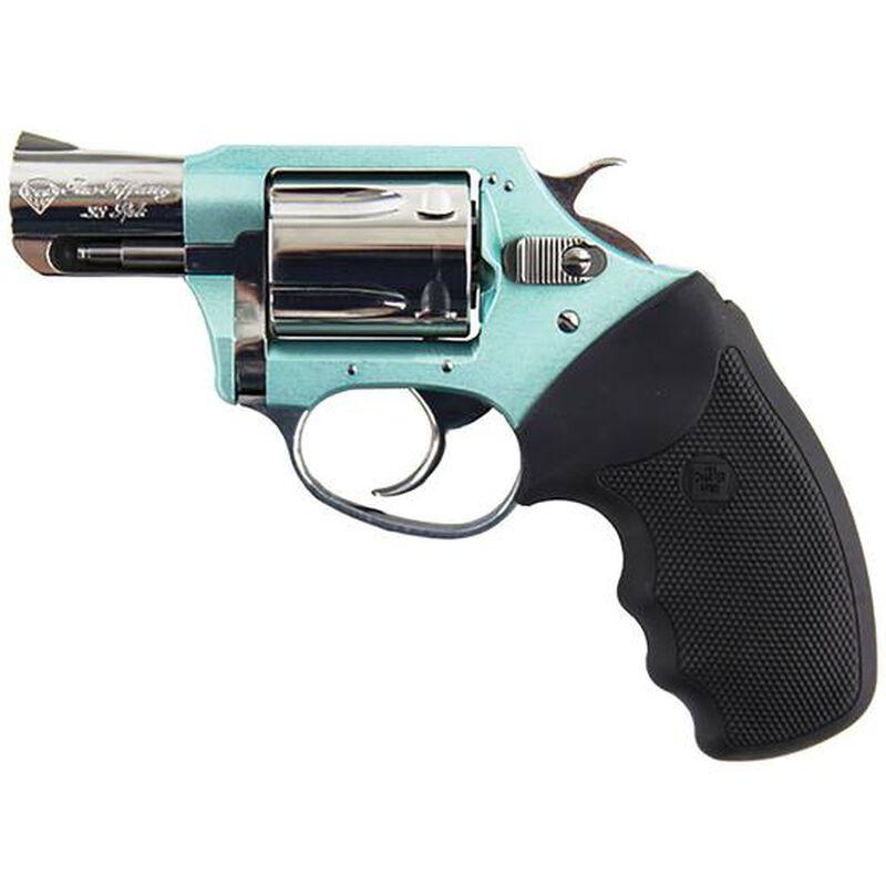 "Charter Arms Undercover ""The Blue Diamond"" Revolver .38 Special 2"" Barrel 5 Rounds Blue Aluminum Frame 53879"