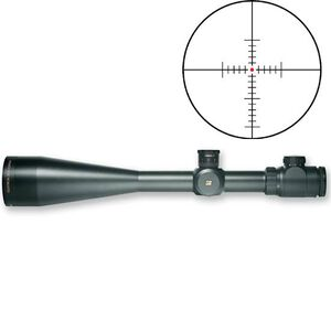 Sightron SIII Series 10-50x60 Riflescope Long Range Illuminated MOA-2 Reticle 30mm Tube 1/4 MOA Adjustable Objective Matte Black Waterproof 25146