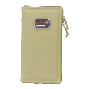 "G Outdoors G.P.S. Pistol Sleeve Large Padded Nylon 6.75""x12"" Tan GPS-1265PST"