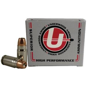 Underwood Ammo .357 SIG Ammunition 20 Rounds Bonded JHP 125 Grains 149