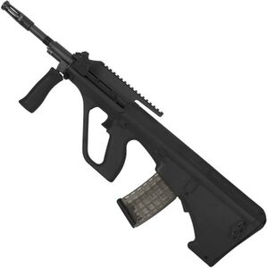 "Steyr AUG A3 M1 Semi Auto Rifle .223 Rem/5.56 NATO 16"" Chrome Lined Barrel 30 Round AUG Pattern Magazine with High Rail Matte Black Finish"