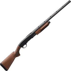 "Browning BPS Field 12 Gauge Pump Action Shotgun 28"" Barrel 3"" Chamber 4 Rounds Satin Walnut Stock Matte Blued Finish"