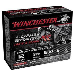 "Winchester Long Beard XR 12 Ga 3.5"" #6 Lead 2oz 10 rds"