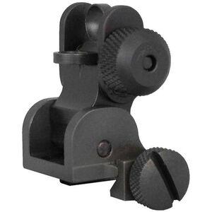 Yankee Hill Machine AR-15 Flip Rear Sight Picatinny Mount Aluminum Black YHM-9680