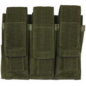 Fox Outdoor Triple Pistol Mag Pouch OD Green 57-5530