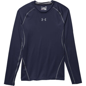 Under Armour Performance Men's HeatGear Long Sleeve Compression Shirt Medium Carbon Heather 1257471090MD